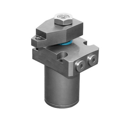 China Horizontal Rotary Hydraulic Clamps For Fixtures No Swing Stroke Anti - Dust Design supplier