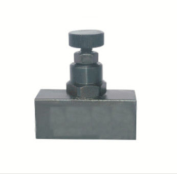 Two Way Hydraulic Flow Control Valve Reliable Structure Anticorrosive Surface