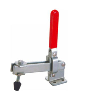 Quick Release Vertical Toggle Clamp 12305 Holding Capacity 364kgs Flanged Base