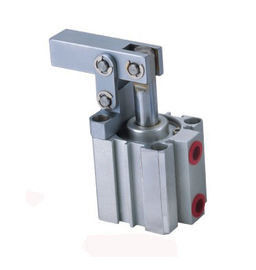 Carbon Steel Link Clamp Cylinder , Pneumatic Lever Clamp Long Service Life